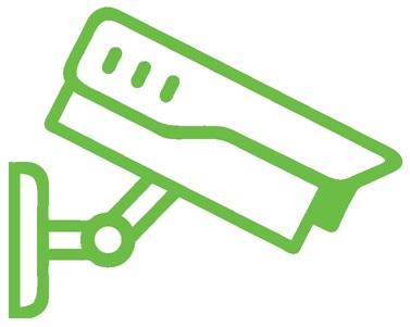 logo video surveillance protection electronique